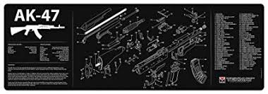 TekMat Gun Cleaning Mat for use with AK-47 ... - Amazon.com