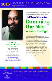 the poetry and poetics colloquium at northwestern university matthew shenoda