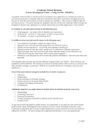 graduate school application resume sample template graduate school application resume sample