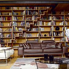 interior creative cool library home bookshelves office great