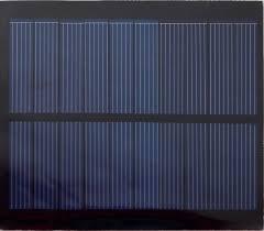 Blue Solaria | 5V <b>solar panel</b> for lawn lights | Fiche Technique ...