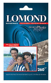 Купить Фотобумага Lomond 1103302 10x15/260г/м2/20л./белый ...