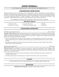resume phd mechanical sample engineer resume engineering resume objectives samples