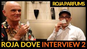 Interviewing <b>Roja</b> Dove of <b>Roja</b> Parfums In Milan, Italy - YouTube