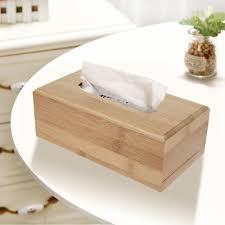 <b>Бамбуковая</b> коробка для хранения бумажных <b>салфеток</b> для дома ...