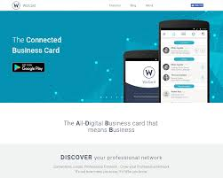 wizcard wizcard is the worlds first networked business card wizcard is the worlds first networked business card