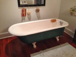 deco bathroom drop tub bathtubs with feet decorations osbdata hidden magnolias cast iron bath