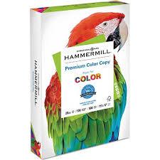 Premium <b>Color Copy</b> Paper, <b>100</b> Brightness, 28lb, 11 x 17, Photo ...