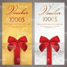 voucher gift certificate coupon ticket template holidays boxes 1 credit
