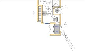 plumbing layout for bathroom