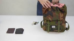 <b>Рюкзак Herschel</b> Supply Co | Little America Mid Volume - YouTube