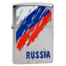<b>Зажигалка Zippo</b> (зиппо) №<b>207 Russia Flag</b> – Краснодар