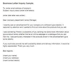 business letter inquiry sample   just letter templatesbusiness letter asking for information