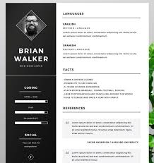 new fashion resume   cv templates for free download   web    free resume template for word  photoshop  amp  illustrator