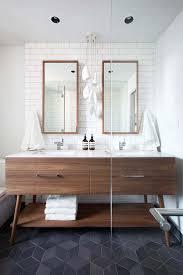 mid century bathroom vanity  amazing mid century modern bathrooms to soak your senses