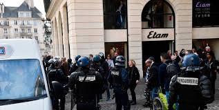 Manifestation de gilets jaunes à Rouen : sept personnes interpellées