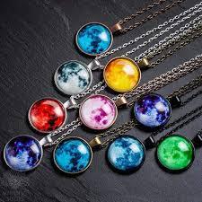 Glowing <b>Moon Necklace</b> – MindfulSouls