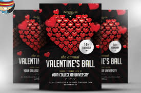 photoshop flyer templates that define success most popular valentines day flyer template deals out there