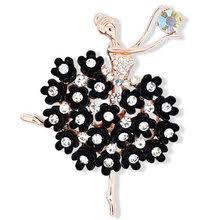 brooch <b>ballerina</b> in <b>dance</b>