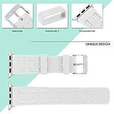 MiniPoco Tech Silicone Replacement Bracelet Strap ... - Amazon.com