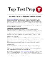 mistakes to avoid in private school admissions essays   toptestprep…