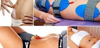 Электро пояс для похудения живота