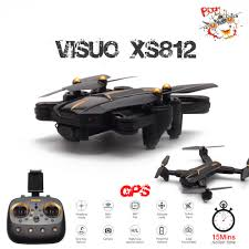 VISUO XS812 GPS RC <b>Drone</b> with <b>5MP HD Camera</b> 5G WIFI FPV ...