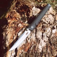 OEM CEO 7096 flip folding knife ball bearing 8cr13mov blade nylon ...