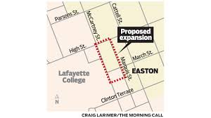 lafayette college expansion plans explained the morning call