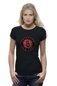 Футболка Wearcraft Premium <b>Brooklyn Nets</b> #649278 – заказать ...