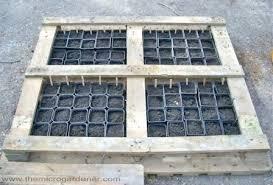 wood pallet planter pots