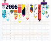 2020 Wall Planner, Large Wall Calendar with 12 Unique Pattern ...