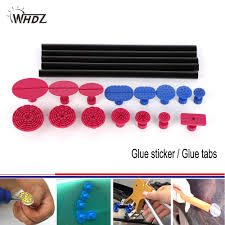 WHDZ <b>15 pieces</b> Red Blue Glue Tabs Professional <b>Dent</b> Tabs with 5 ...