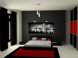 bedroom ideas decorating khabarsnet: red black and grey bedroom ideas khabars net