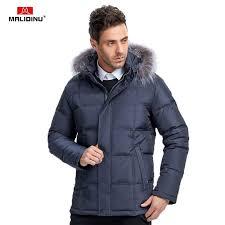 <b>MALIDINU 2019 Men</b> Down Coat Winter Warm Down Jacket <b>Mens</b> ...