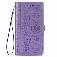 <b>PU Leather</b> Protection Card Slots <b>Wallet Case</b> Flip Cover for iPhone ...