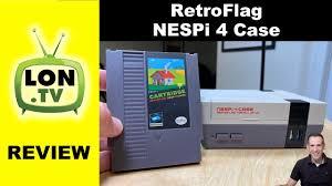 <b>RetroFlag NESPi 4</b> Raspberry Pi Case - Mini NES with Workable ...