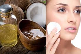 Kết quả hình ảnh cho picture for coconut milk Make a 2-ingredient makeup remover.