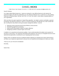 legal billing clerk cover letter example writing a legal cover letter