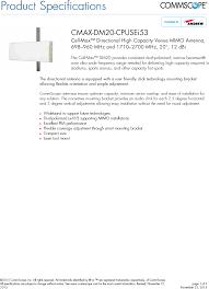 RP-A2114 Multi-Band Radio <b>RF</b> Exposure Info Antenna Information ...
