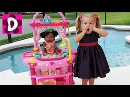 ЧУДЕСА НА <b>КУХНЕ</b> с Беби Элайв! <b>Кухня</b> Куклы Превращается в ...