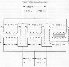 single phase transformers connected in delta   wiring diagram of delta delta connection