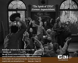 the spirit of all quiet on the western front movie the spirit of 1914 all quiet on the western front 1930 movie quote