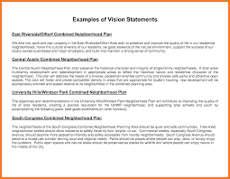 personal vision statement example case statement  8 personal vision statement example