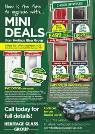 special offers heritage glass group home > special offers hgg pvc and composite doors flyer page 001