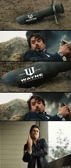 Iron man vs Batman meme - http://www.jokideo.com/iron-man-vs ... via Relatably.com