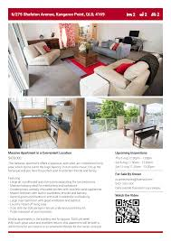 how to sell an apartment in queensland out using a real estate for flyer example 1