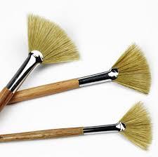 3pcslot watercolor oil art paint brush pig hair soft painting brush acrylic painting brush acryclic painting soft
