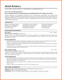 curriculum vitae for bankers bussines proposal  10 curriculum vitae for bankers