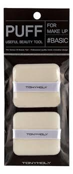 Купить <b>прямоугольный пуф Flocking</b> Puff Square 2шт Tony Moly в ...
